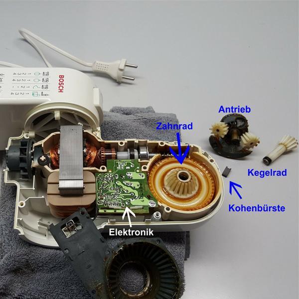 Bosch MUM4 Bauteile wechseln