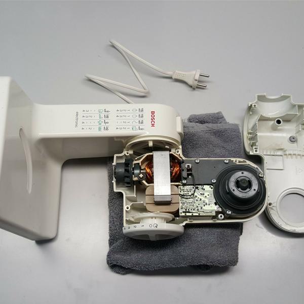 Bosch MUM4 Abdeckung abnehmen
