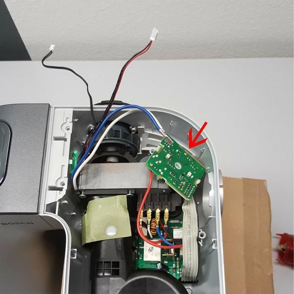 Bosch MUM5 Anleitung Reparatur