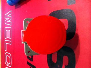 Einbau Steckdose CEE 5x63A rot -LAGERFUND-