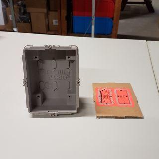 GU511-0 Unterputz Gehäuse 1-fach für Siedle System VARIO 500