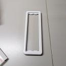 Siedle Kombirahmen KR513-1AW Metall weiß für VARIO500 System
